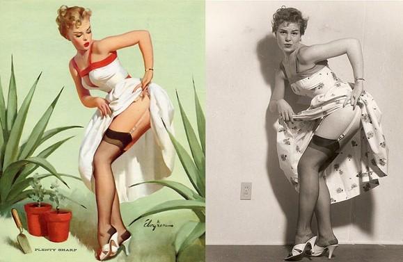 80年前就玩ps 揭秘时尚海报的背后故事(组图)