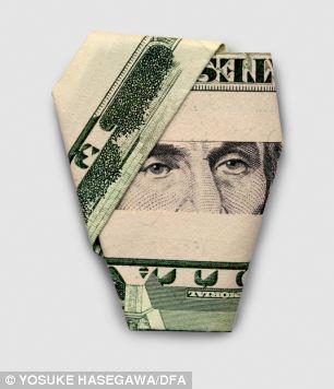 多层折纸钱步骤