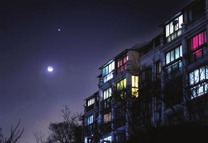 月亮很热的照片