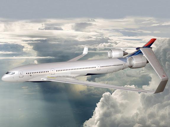 未來派飛機設計:超音速飛行減少噪音