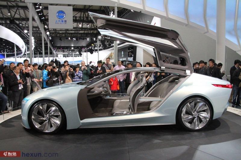 上海通用别克未来概念车亮相上海车展-汽车频道-和讯网