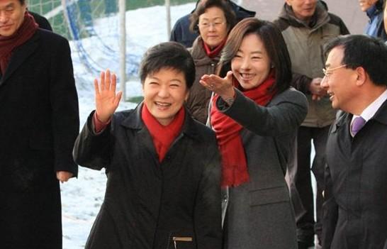 韩国总统朴槿惠部分生活照曝光(组图)