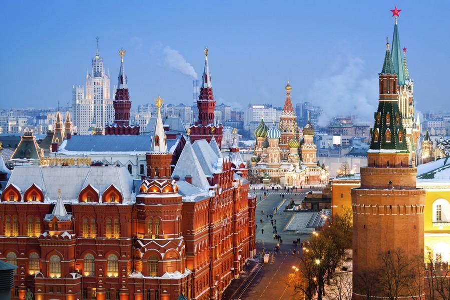 唯美 莫斯科/外国人生活成本最昂贵的10大城市(组图)