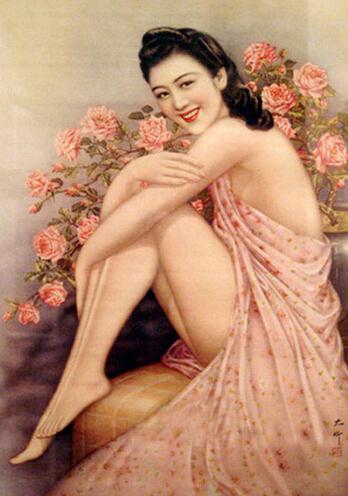 民国时期的美女招贴画组图
