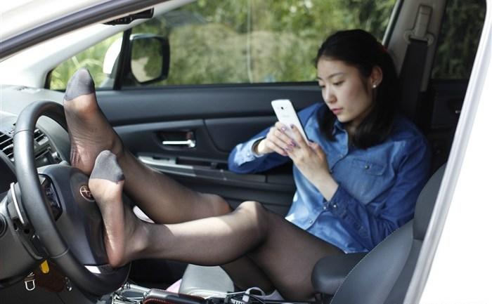 媳妇当车模 丝语系美图综合图片